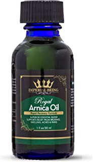 ROYAL ARNICA OIL - Rapid Recovery Formula - Organic Super Premium Herbal Blend with Essential Oils for Natural Pain Relief...