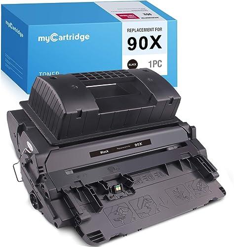 lowest MYCARTRIDGE Compatible online sale Toner Cartridge Replacement for HP 90X CE390X 90A CE390A for Laserjet Enterprise 600 Printer M602DN M603DN M602N M602X M603N M603XH online sale M4555F MFP M4555H MFP (Black, 1-Pack) outlet online sale