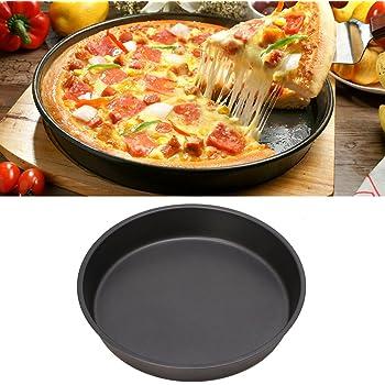 9//10//11//12 Inch Round Deep Dish Pizza Pan Non Stick Pie Tray Baking Kitchen Tool
