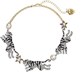Tiger Frontal Necklace