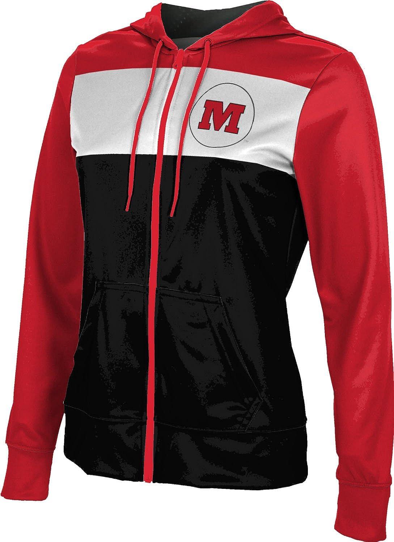 Monmouth College Girls' Zipper Hoodie, School Spirit Sweatshirt (Prime)