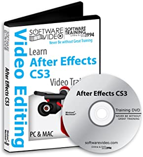 AFTER EFFECTS CS3 Training DVD Sale 60% Off training video tutorials DVD Over 8 Hours of Video Tutorials Training