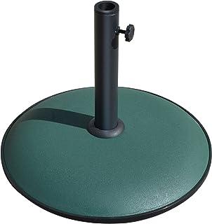 BenefitUSA Cement Umbrella Base Patio Umbrella Concrete Base Garden Deck Parasol Weight