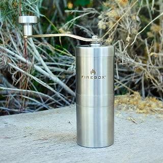 FIREBOX(ファイヤーボックス) Coffee Mill コーヒーミル 【日本正規品】軽量 ハンディータイプ 粗さ調整可能 セラミック刃 アウトドア キャンプ BBQ バーベキュー 等で活躍 コーヒー アイスコーヒー エスプレッソ 2人分が挽けます コーヒーグラインダー