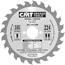 CMT Orange Tools 291.165.24M - Sierra circular 165x2.6x30 z 24 atb 15 grados