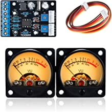 Nobsound 2PC Audio Power Amplifier Panel VU Meter DB Level LED Header + 1PC Driver Board Module DIY