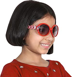Amour Stylish Charm Oval Sunglass for Kids 7-10 years
