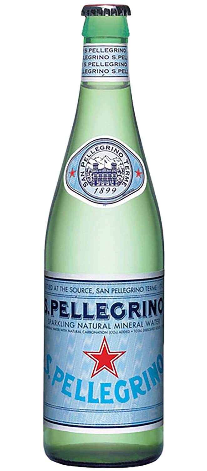 San Pellegrino - Sparkling Mineral Water mL Bottl 67% OFF of fixed price 6 Glass outlet 500