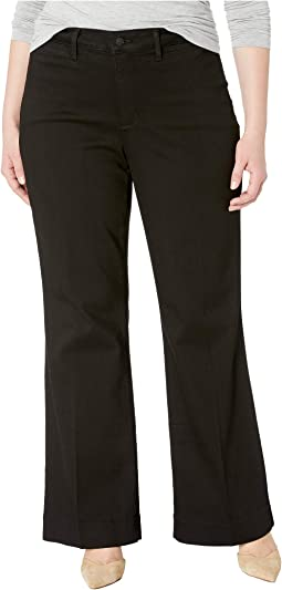 Plus Size Teresa Trousers in Black