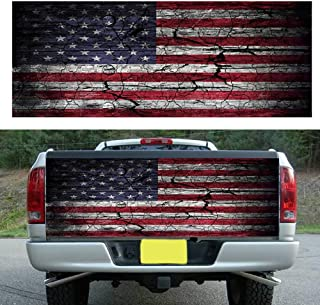 tailgate wraps american flag