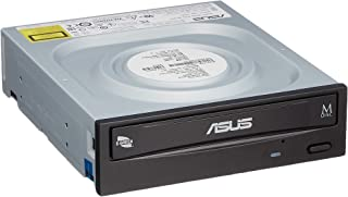Asus Windows10対応 M-DISC対応 最大24倍速書込 SATA接続 DVD/CDライティングソフト付き DRW-24D5MT