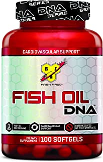 BSN DNA Fish Oil. Suplemento Standard - 100 Cápsulas