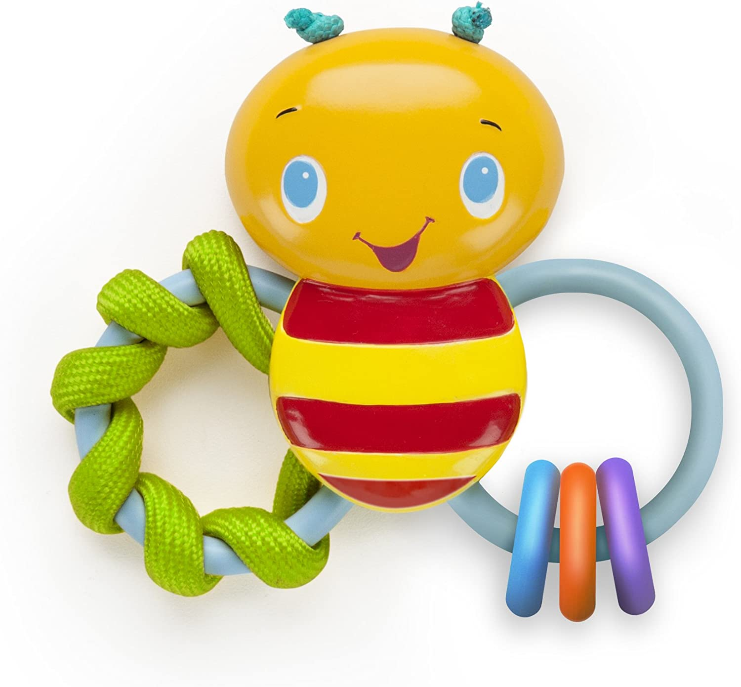 BRIGHT STARTS Teether, Chew and Rattle Bee