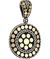 John Hardy - Dot Small Round Enhancer Necklace