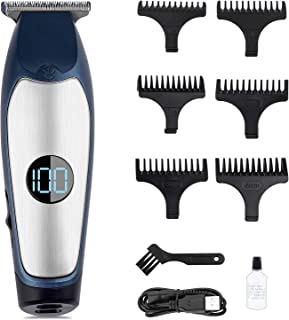 Hair Clippers for Men Professional, Tufusiur Cordless Electric Haircut Kit Barber Clippers Cutting with LED Display Screen...