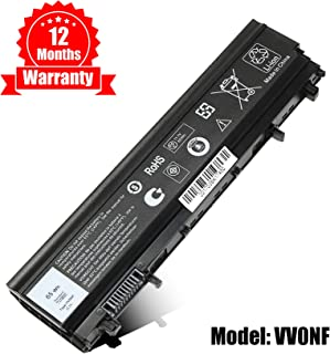 E5440 Laptop Battery Replacement for Dell Latitude E5440 E5540 Battery, fits VV0NF N5YH9 0M7T5F NVWGM 9TJ2J 312-1351 451-BBIE-11.1V 65Wh