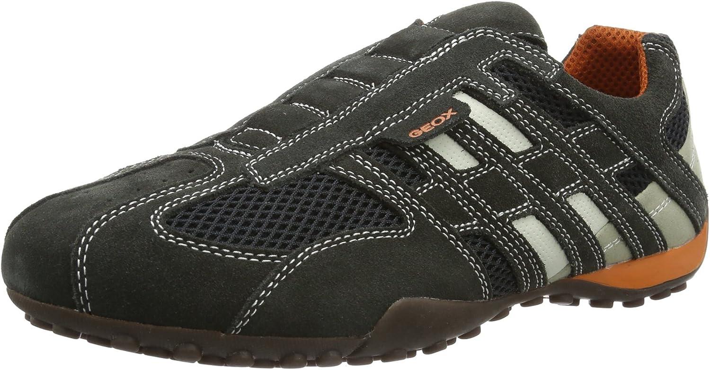 Geox Men men Snake L Low-Top Sneakers
