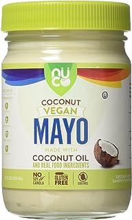 NUCO Coconut and Avocado Oil Mayo, Paleo, Vegan, Gluten and Egg Free, 12 Oz (1 Jar)
