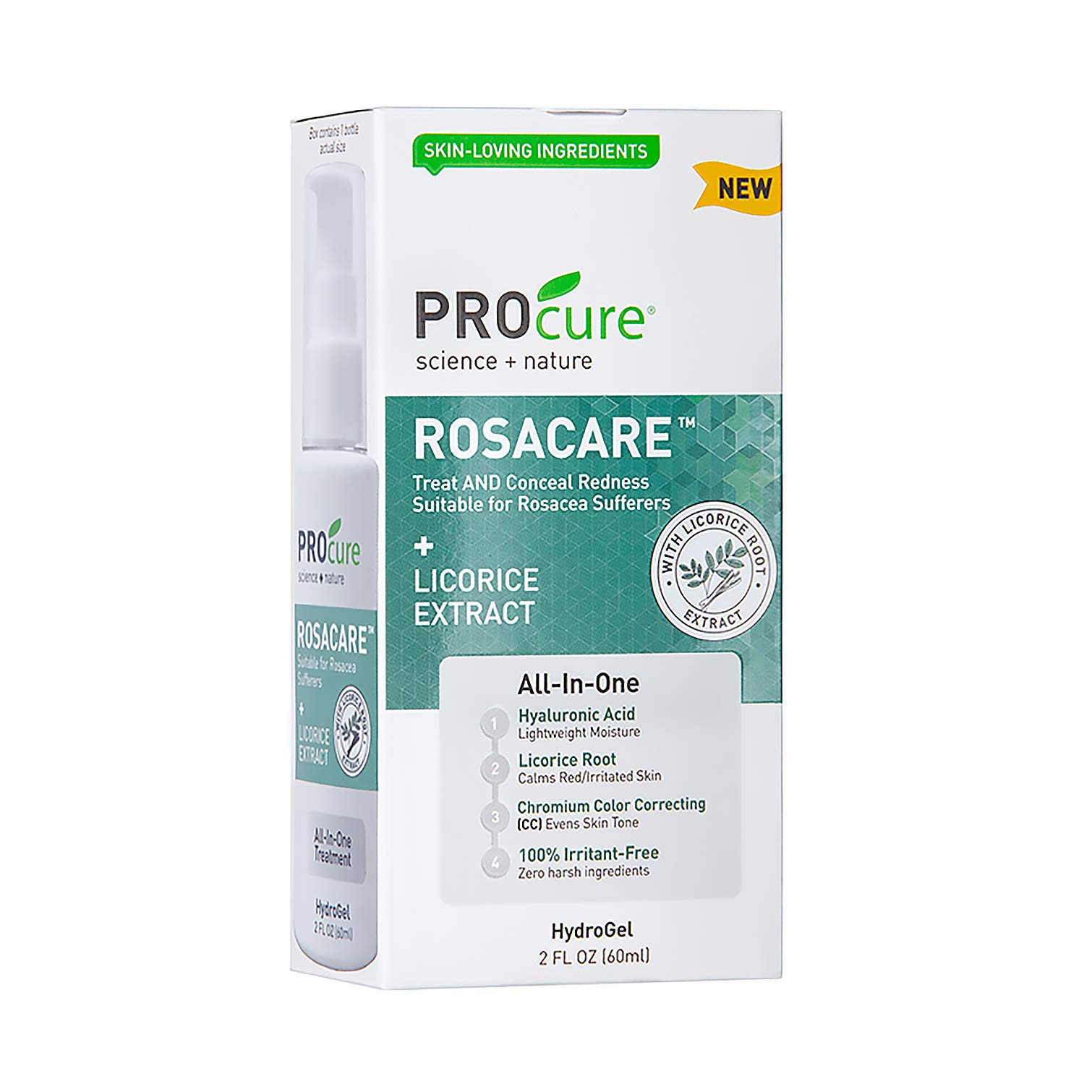 Rosacare Medicated Hyalurnoic Reduction Sufferers