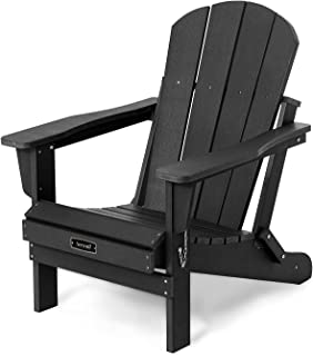 Folding Adirondack Chairs Patio Chairs Lawn Chair Outdoor Chairs Painted Adirondack Chair Weather Resistant for Patio Deck...