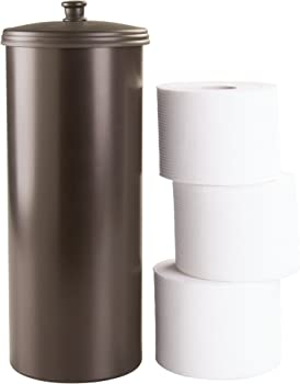 InterDesign Kent Toilet Free Standing Paper Holder