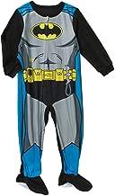 Dc Comics Batman Little Boys Toddler Footed Blanket Sleeper Pajama