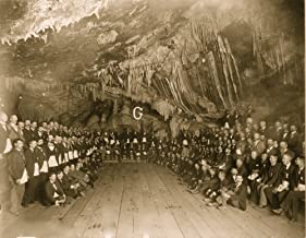 Masonic Grand Lodge of Arizona meeting in the cave in the mine of the Copper Queen Consolidated Mining Co at Bisbee Arizon...