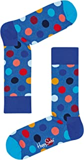 Happy Socks Men's Big Dot Sock, Multicoloured, 36-41