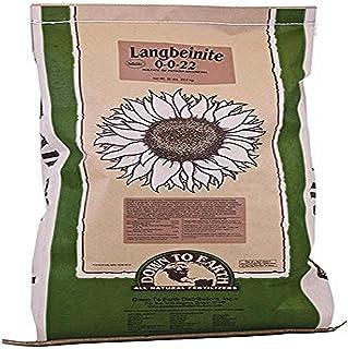 Down To Earth Langbeinite Sulfur Potassium and Magnesium Fertilizer, 50 lb.