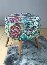 Akua Pouf - Ottoman foot stool and pouf chair for Living Room Furniture
