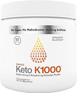 Keto K1000 Electrolyte Powder | Boost Energy & Beat Leg Cramps | No Maltodextrin or Sugar | No Ingredients from China or P...