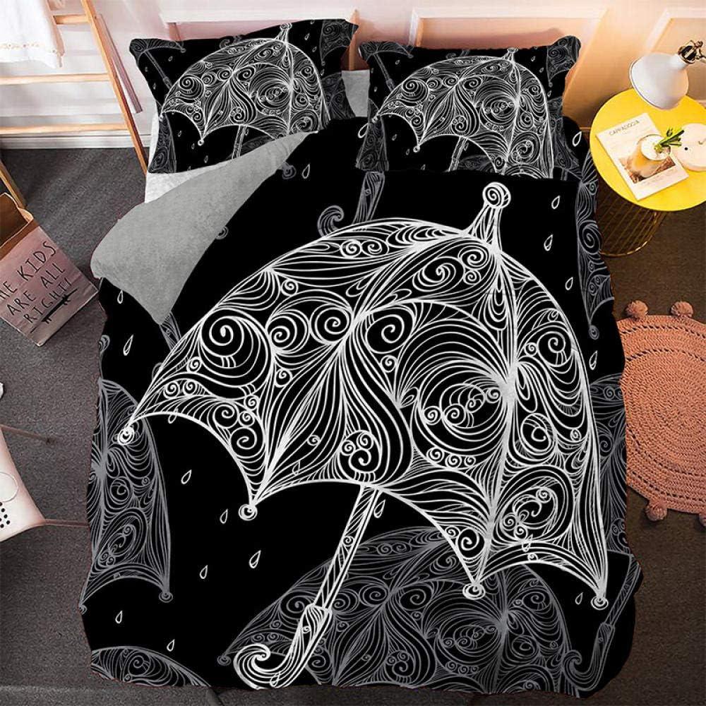 JTBDWOSK Children Duvet Covers King Pattern Sale price Cartoon Umbrella New life Bed