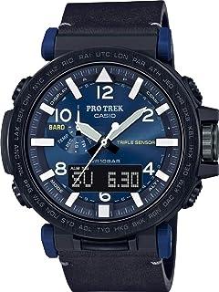 Casio - Reloj para de Cuarzo con Correa en Cuero PRG-650YL-2ER