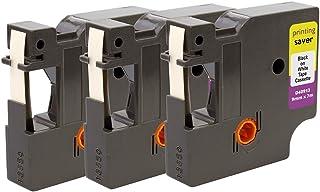 Compatibile D1 40913 Nero su Bianco Cassetta Nastro per DYMO/LabelWriter 450 Duo LabelPoint 100 150 250 LabelManager 160 210D 220P 260P 280 360D 420P 450 500TS PnP Wireless MobileLabeler 9mm x 7m