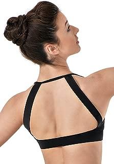 Dance Bra Open Back Crop Top