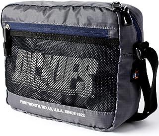 Dickies (ディッキーズ) リップストップ ショルダーバッグ メッセンジャーバッグ dwearsステッカー入り ミニ ショルダー サコッシュ