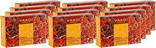 Vaadi Herbals Luxurious Saffron Soap Skin Whitening Therapy, 75g (Pack of 12)