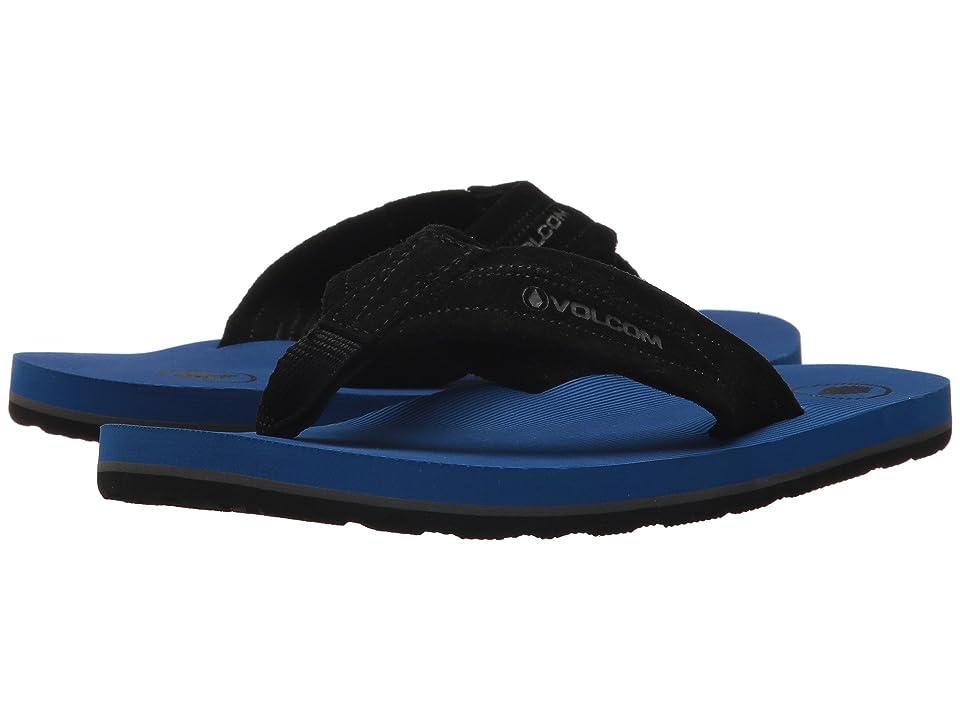 Volcom Kids Driftin (Little Kid/Big Kid) (Blue) Boys Shoes