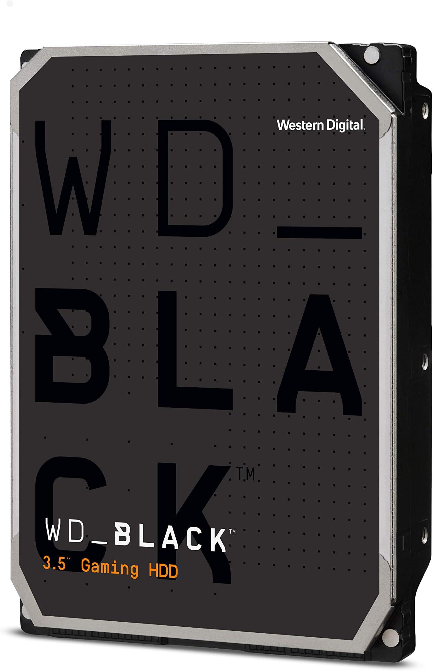 """Western Digital 2TB WD Black Performance Internal Hard Drive HDD - 7200 RPM, SATA 6 Gb/s, 64 MB Cache, 3.5"""" - WD2003FZEX"""