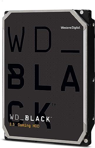 """Western Digital 6TB WD Black Performance Internal Hard Drive HDD - 7200 RPM, SATA 6 Gb/s, 256 MB Cache, 3.5"""" - WD6003FZBX"""
