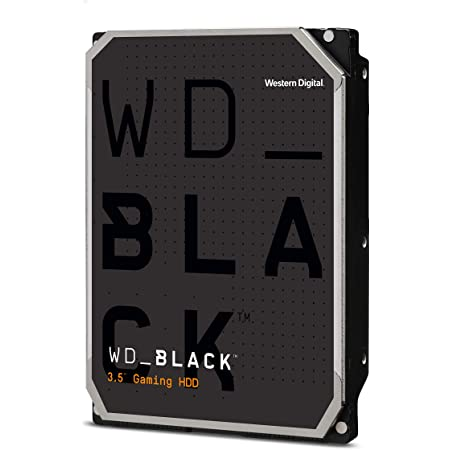 "Western Digital 4TB WD Black Performance Internal Hard Drive HDD - 7200 RPM, SATA 6 Gb/s, 256 MB Cache, 3.5"" - WD4005FZBX"