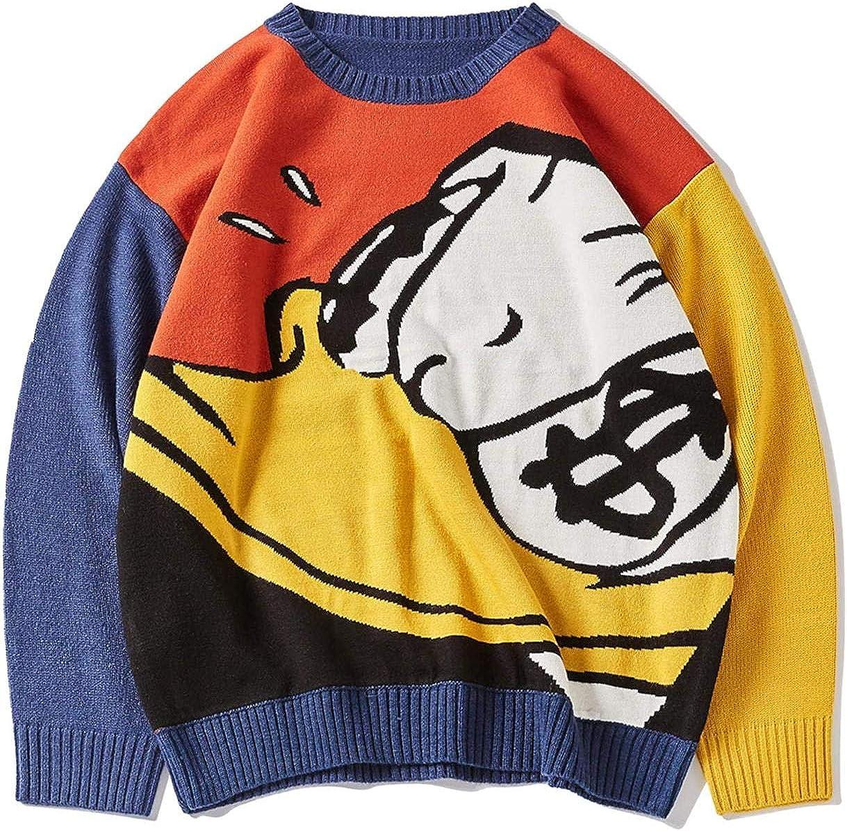 lowest price Oversize Sweaters Men Winter High Ranking TOP9 Pullov Streetwear Fashion Mens