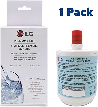 LG LT500P Refrigerator Water Filter Premium | Fridge Filters Replacement Compatible with models LG like 5231ja2002a