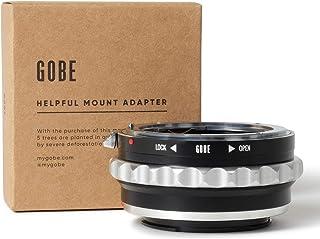 Gobe - Adaptador de Lente Compatible para Lentes Nikon F (G-Type) y cuerpos de cámara Sony E