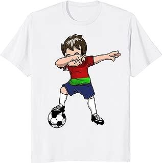 Belarus Belorussian Dabbing Soccer Boy Shirt Football Flag