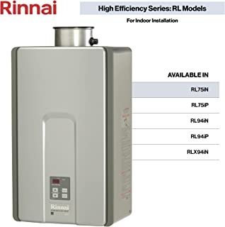 Rinnai RL Series HE+ Tankless Hot Water Heater: Indoor Installation