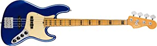 $1999 » Fender American Ultra Jazz Bass Guitar (Cobra Blue, Maple Fingerboard)