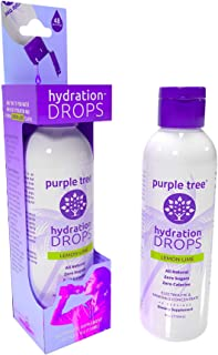 Electrolyte Liquid Drops for Water | Trace Minerals Hydration (Lemon Lime) | NO Sugar NO Calories | Keto, Sports, Cramps, ...