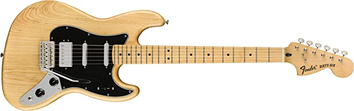 Fender Alternate Reality Sity-Six Electric Guitar - Maple - Natural