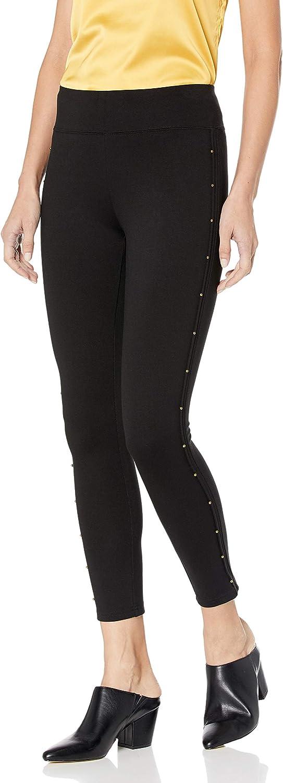 Free shipping kensie Women's Bead Detail Legging Compression Ponte High order
